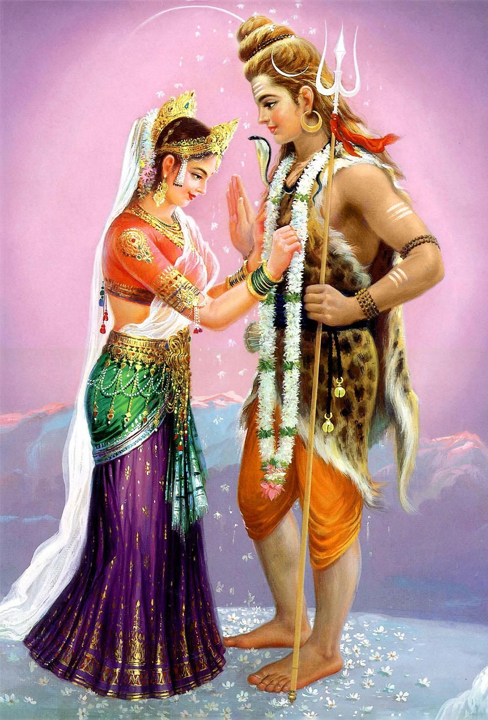 Тандава — танец Бога Сивы (Шивы).
