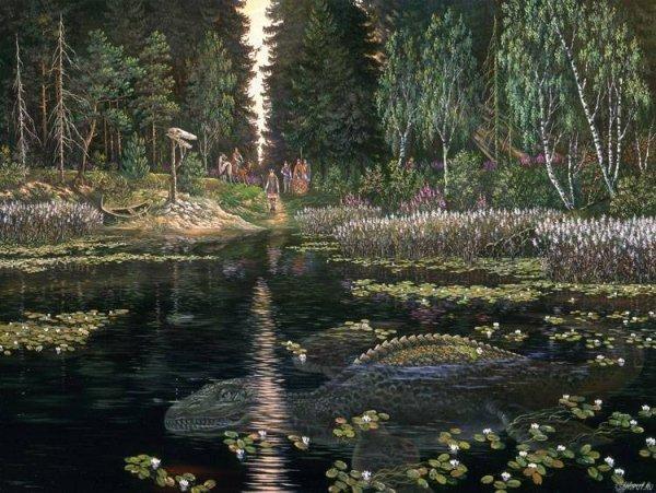 Тайна озера Бросно