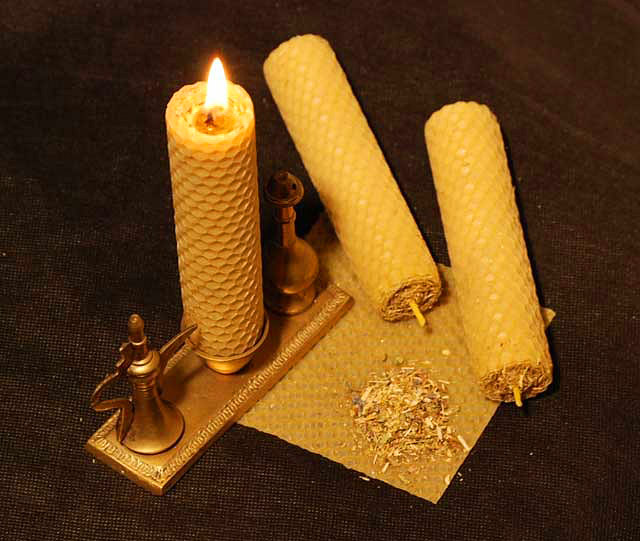 Сделать восковые свечи своими руками